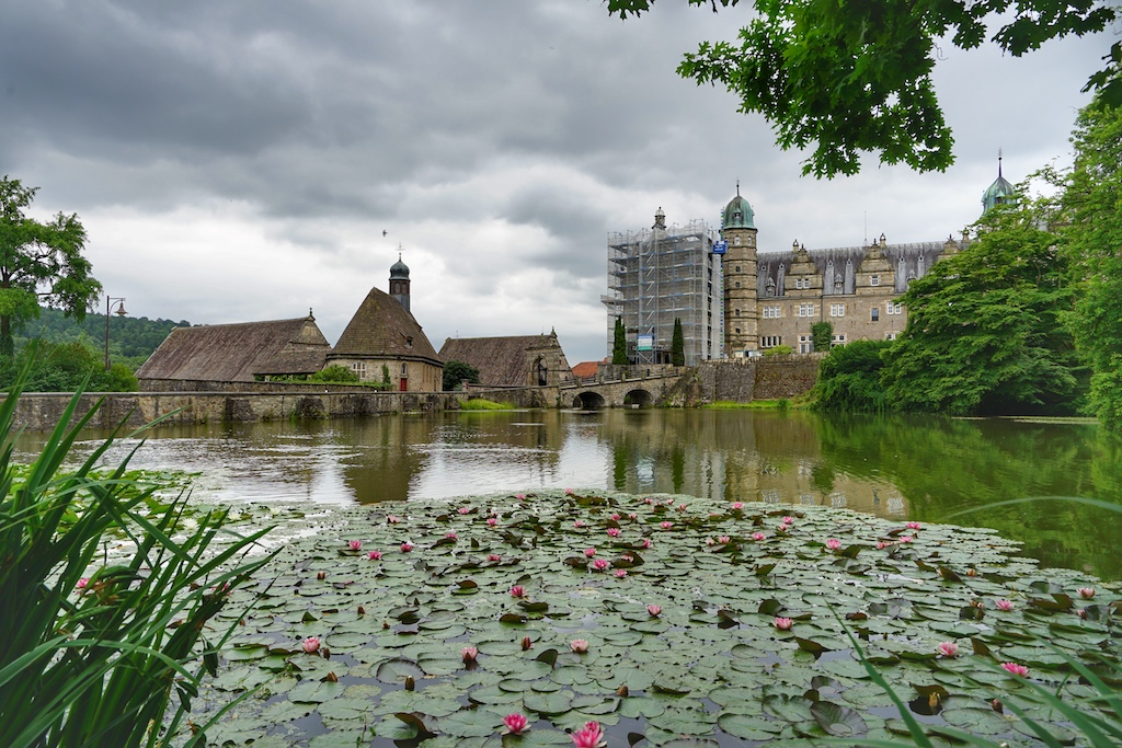 Schloss Hämelschenburg und seine romantische Seite