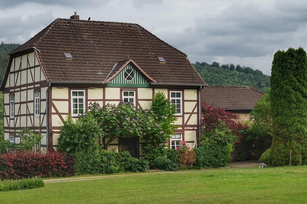 Schmuckstück im Garten der Hämelschenburg
