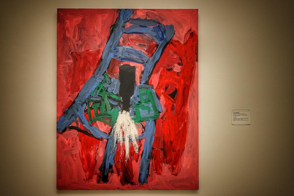 Kunst als Retter der Seele Georg Baselitz: Die schwarze Flasche / © Redaktion FrontRowSociety.net