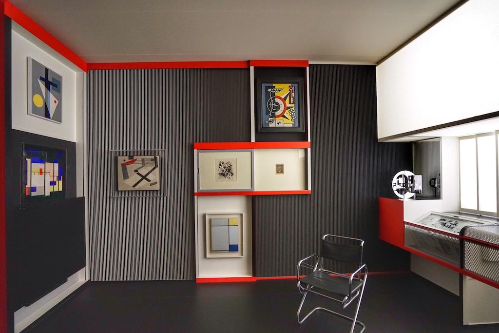 Aufgeräumt: Das Kabinett des Abstrakten von El Lissitzky / © Redaktion FrontRowSociety.net
