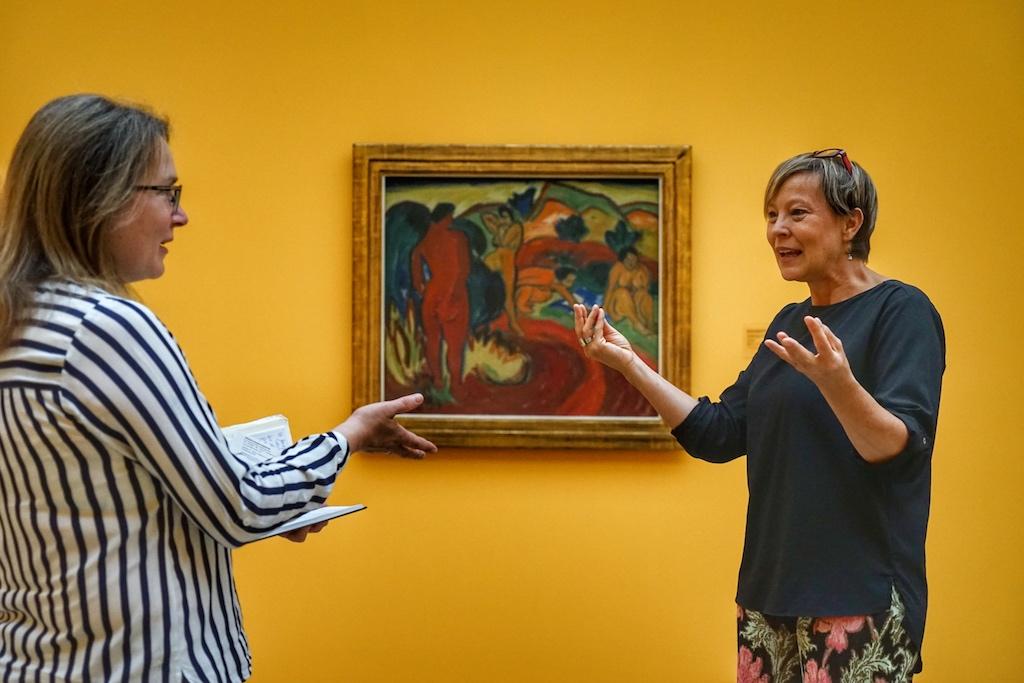 Sinneseindrücke sorgen für Diskussion und Kontroverse. Was macht ein Museum sehenswert? Ist das Betrachten und das Sich beschäftigen mit Kunst ein alter Hut? Hat in unserem digitalen Zeitalter die Virtualität die Realität abgelöst? / © Redaktion FrontRowSociety.net