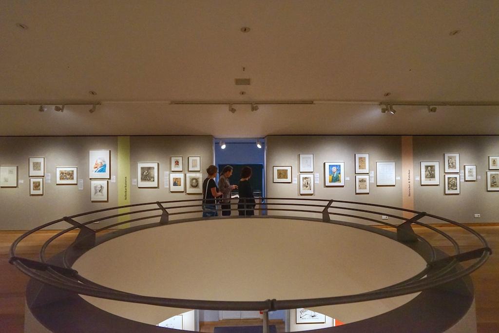 Das Museum ist kein Blätterwald, sondern es erzählt Geschichte(n) in Form von Karikaturen und Comics