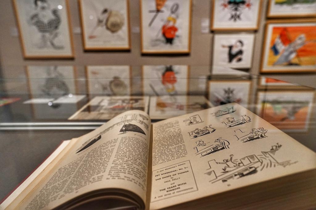 Gesammelte Werke der Zeichenkunst aus vier Jahrhunderten erwarten die Besucher des Wilhelm Busch Museums / © Redaktion FrontRowSociety.net