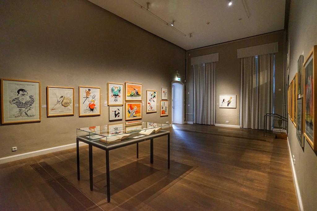 Das Wilhelm Busch - deutsches Museum für Karikatur & Zeichenkunst besticht durch seine Exponate