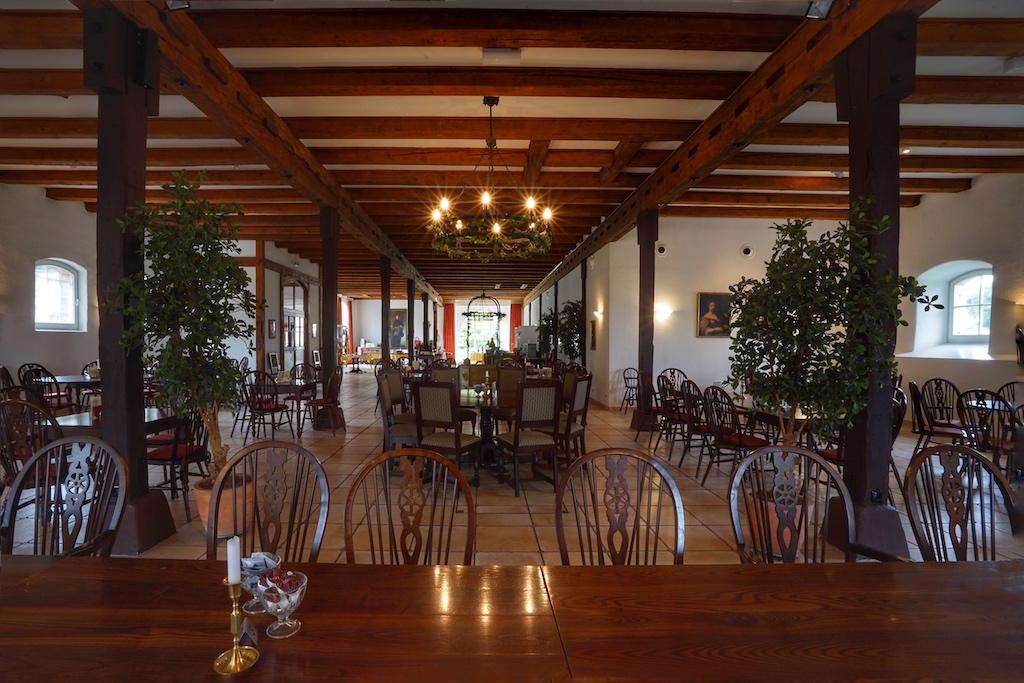 Kaffee, Kuchen und vieles mehr dürfen die Besucher im Schloss-Café gustieren