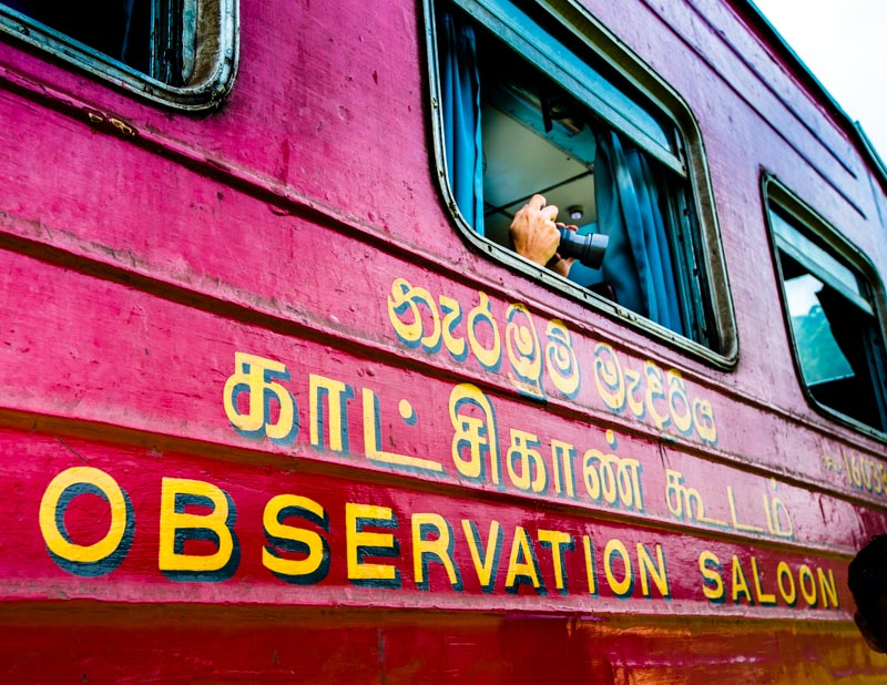 Der Wagen für die erste Klasse nennt sich auch Observation Saloon / © FrontRowSociety.net, Foto: Georg Berg