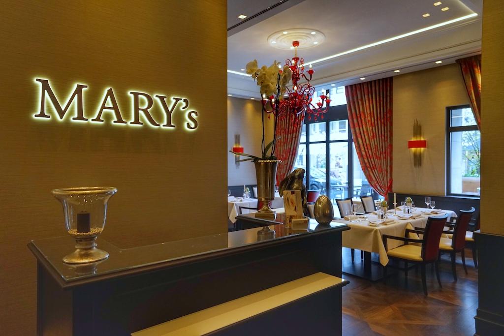 Willkommen im Mary's, einem der besten Restaurants in Hannover