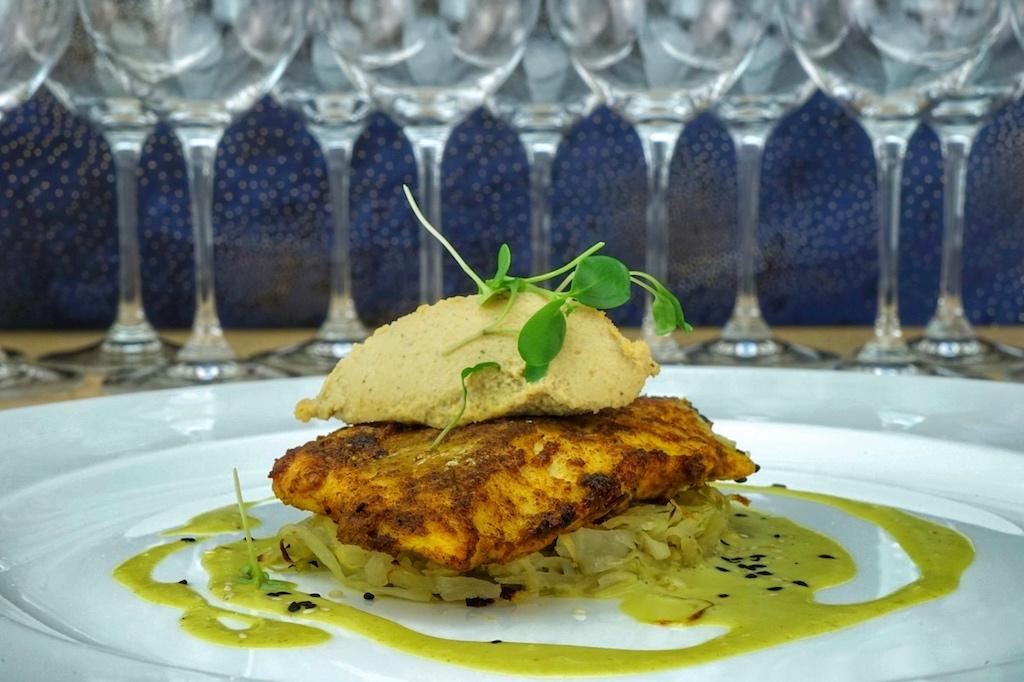 Zanzibari Masala Fish war die gelungene Hauptspeise zum Lunch
