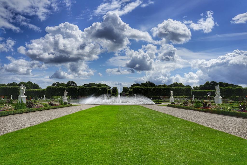 Großer Garten der Herrenhäuser Gärten: Prachtvolle barocke Gartenarchitektur