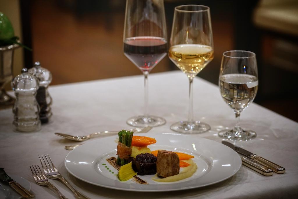Auf gehobene Küche darf sich der Feinschmecker im Restaurant Mary's freuen