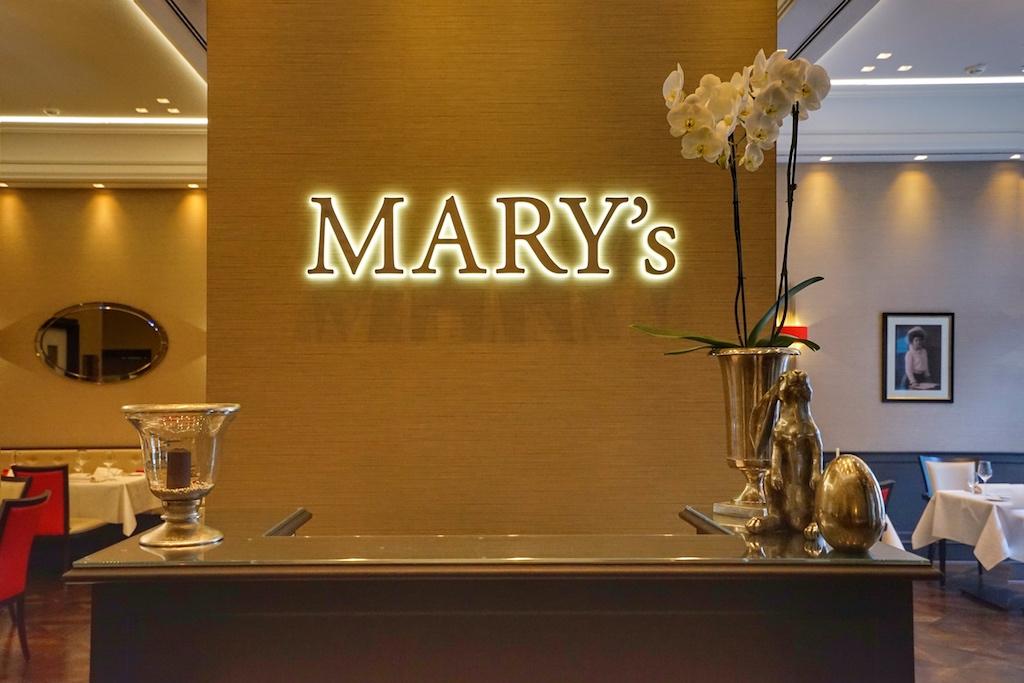 Das Mary's gehört zu den stilvollen Restaurants Hannovers und ist im 5 Sterne superior Hotel Luisenhof beheimatet