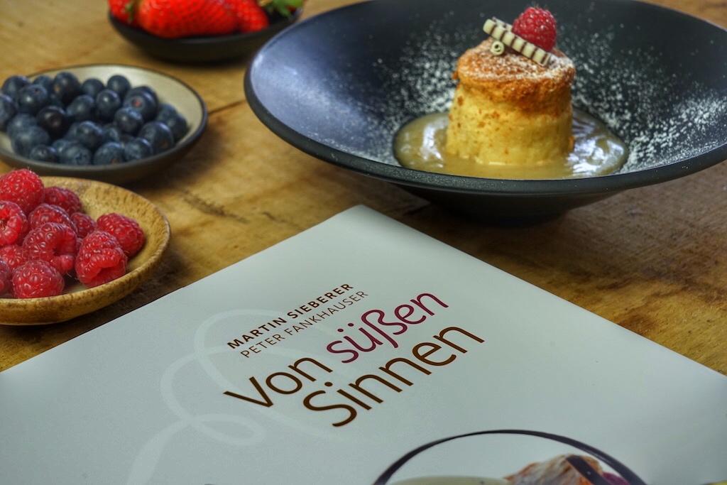 Martin Sieberers Repertoire reicht vom einfachen Dessert bis hin zu raffinierten Leckerein