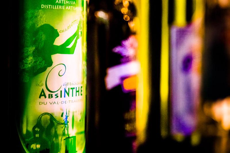 Die grüne Fee – La fée verte – Absinth war das erste alkoholische Getränk, das Mitte des 19. Jahrhunderts auch Frauen in der Öffentlichkeit trinken konnten, ohne zur anrüchigen Halbwelt gezählt zu werden / © FrontRowSociety.net, Foto: Georg Berg
