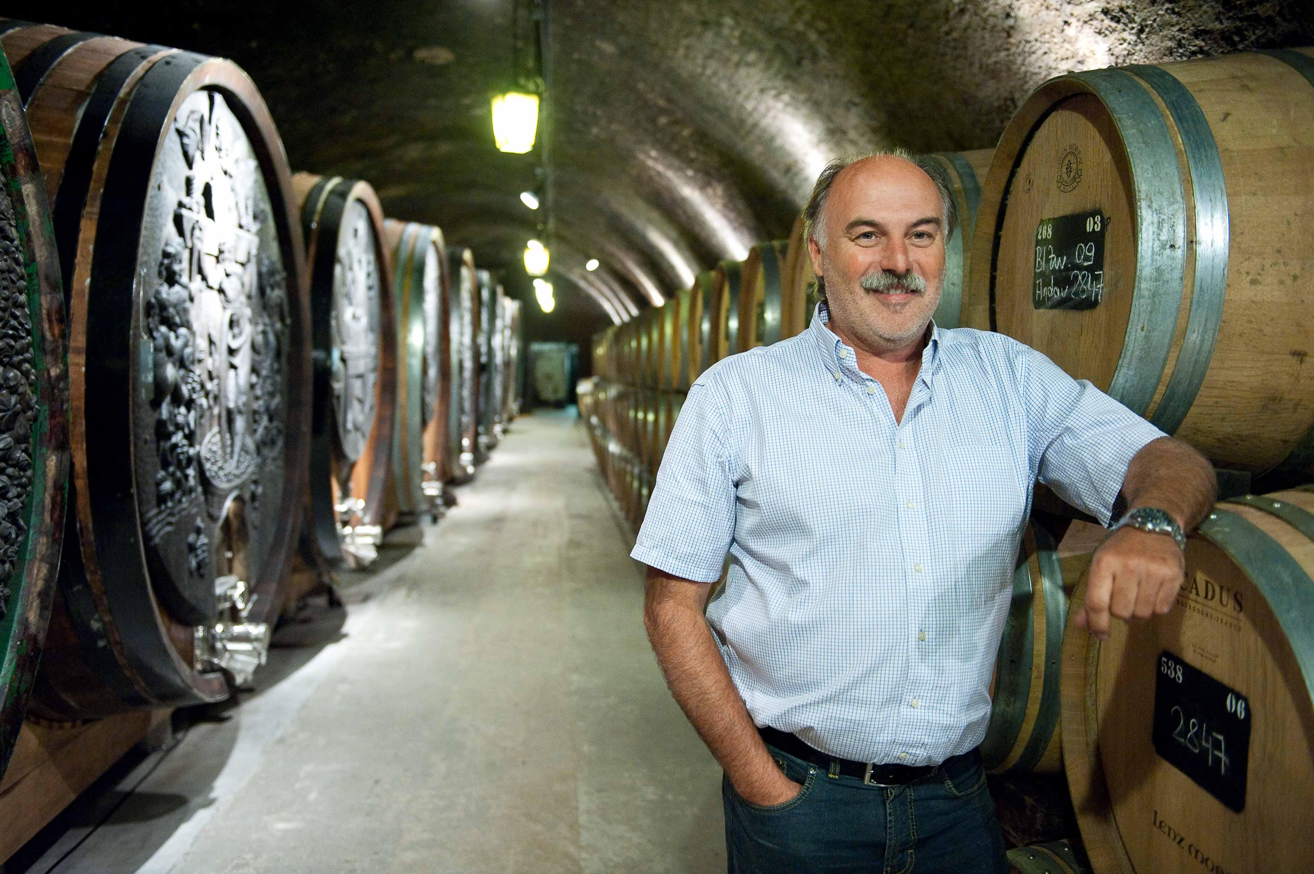 Chefönologe Ernest Großauer zeichnet sich für die Vinifizierung verantwortlich
