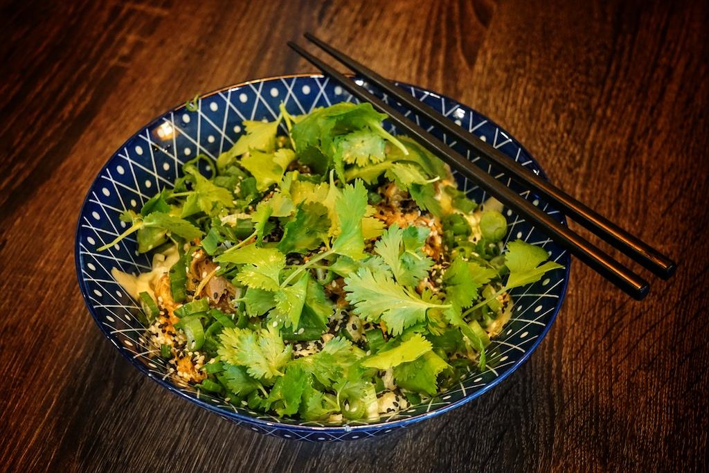 Kim Duck schmeckt im Restaurant oder zu Hause