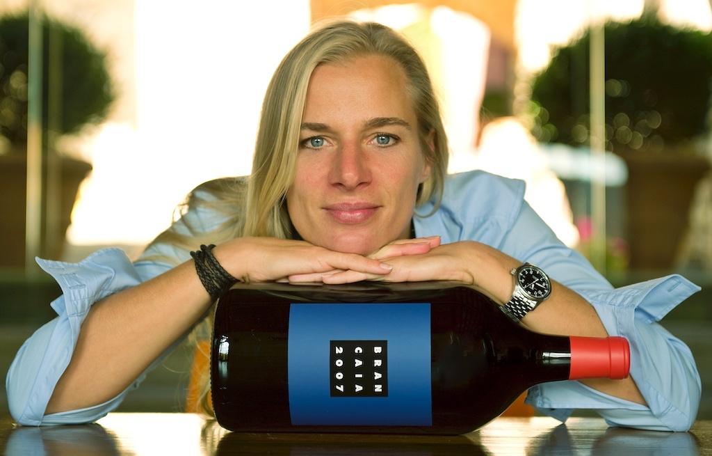 Barbara Widmer vom Weingut Brancaia