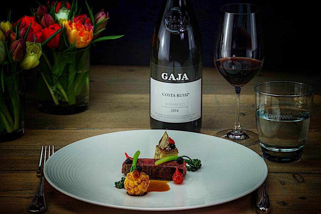 Partner auf Augenhöhe: Die Haute Cuisine von 3 Sterne Koch Christian Bau und die noblen Weine der Familie Gaja