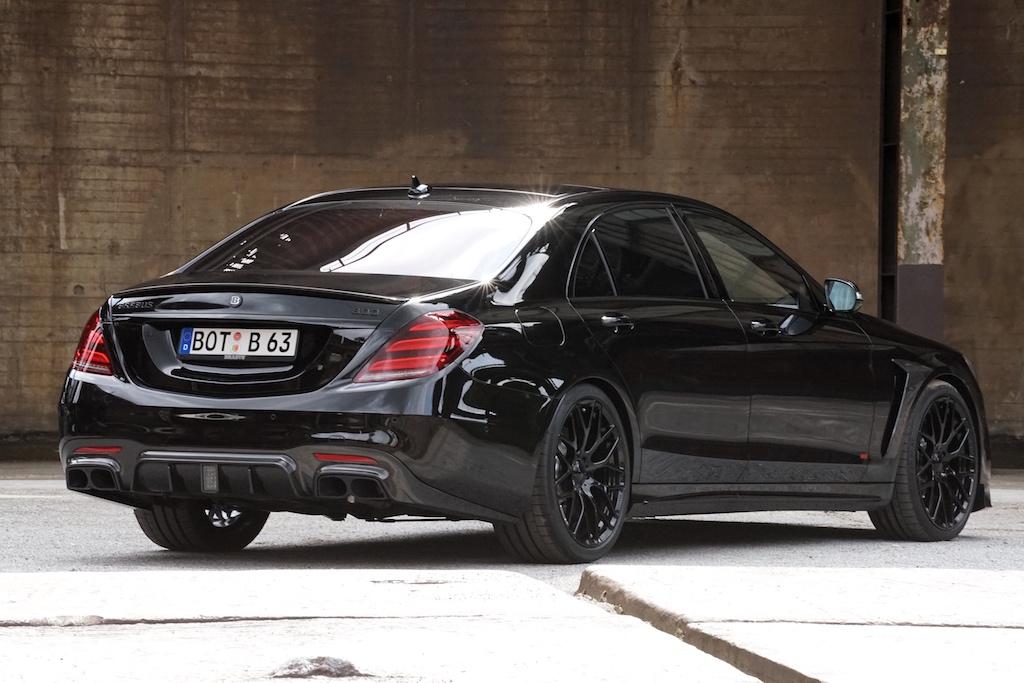 Eine High Performance Allradlimousine der Extraklasse, auf Basis eines Mercedes S63 S 4MATIC+