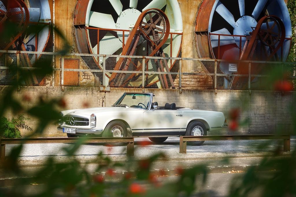 In der ersten Jahre wurde die Pagode als 230 SL und 250 SL gebaut, ...