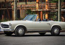 Die Pagode SL 280 - von Mercedes-Benz nur in den Jahren 1968 bis 19171 gebaut