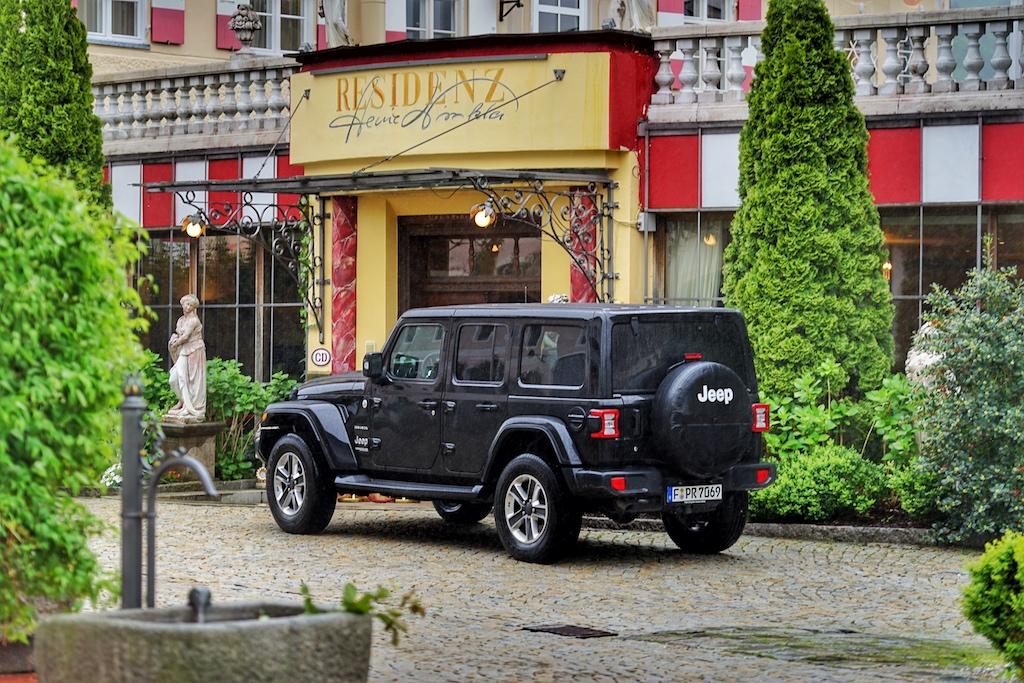 Erster Aufenthalt, 5 Sterne Hotel Heinz Winkler Residenz in Aschau