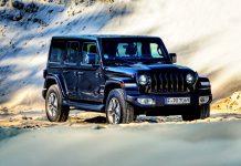 Die Offroad Ikone, der Jeep Wrangler - hier als Unlimited Sahara