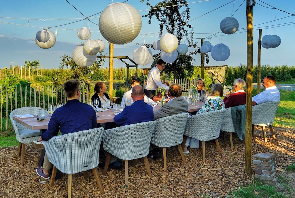 Sommer Pop up - RestaurantN°4 von Jens Rittmeyer auf dem Biohof Ottilie