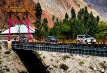 Brücke über den Serafschan-Fluss in Tadschikistan / © FrontRowSociety.net, Foto: Georg Berg
