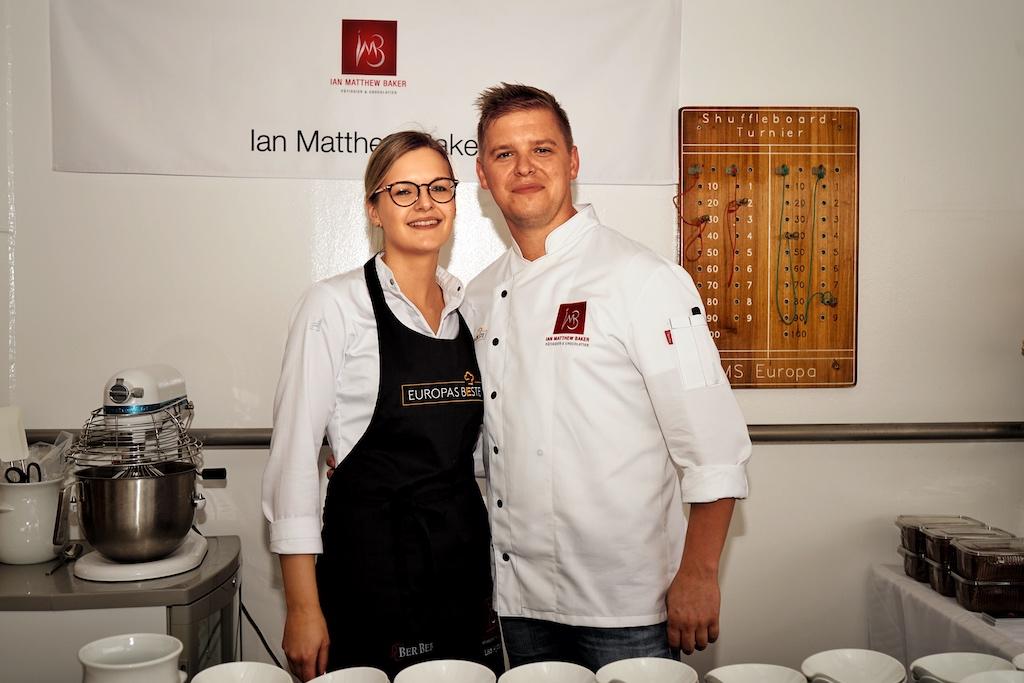 Der in London geborene Ian Mattew Baker verwöhnte die Gaumen dessertechnisch