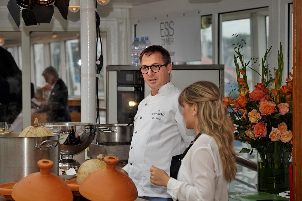 Die österreichische Haute Cuisine auf der EUROPA wurde von 3 Haubenkoch Max Stiegl vom Gut Purbach repräsentiert
