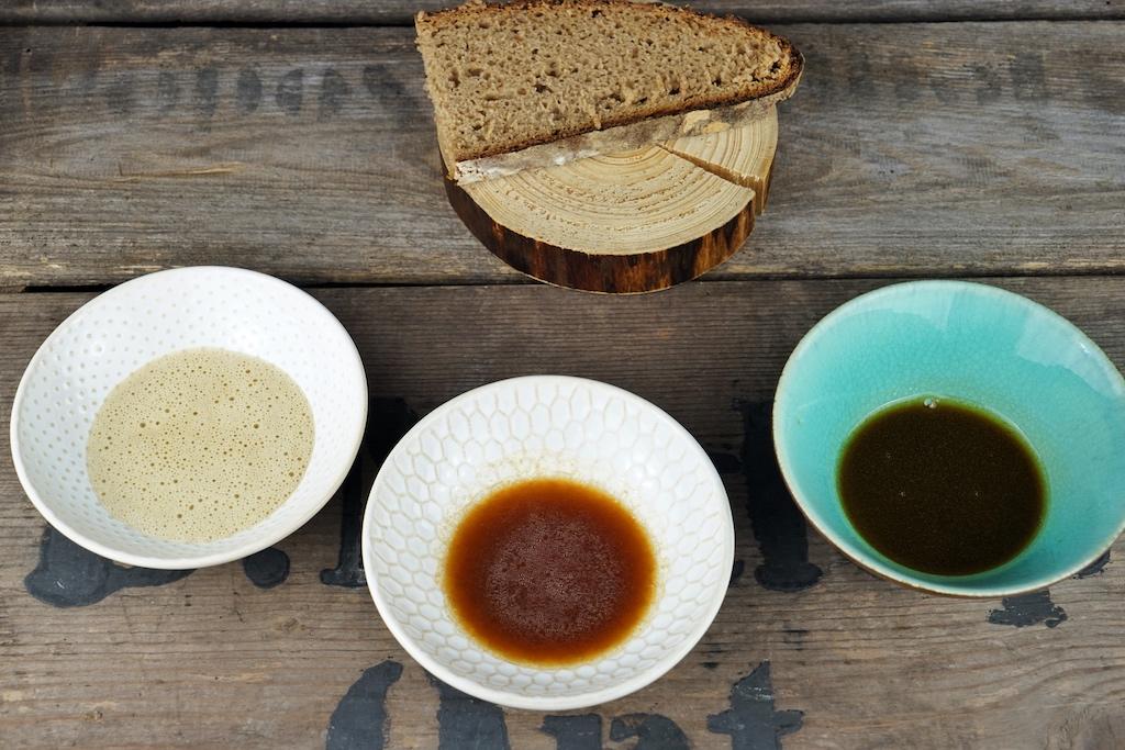 """Bei dem jährlich stattfindenden Gourmet Event """"Farm to Table auf dem Biohof Ottilie"""" nehmen die Saucen des Saucengotts Jens Rittmeyer ebenfalls eine zentrale Rolle ein"""