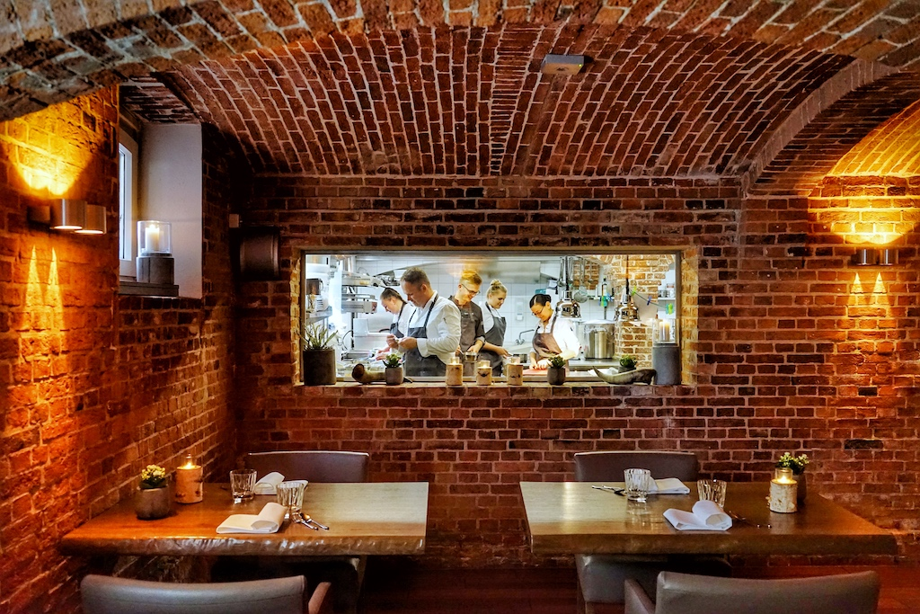 Das Sternerestaurant N°4, in welchem Jens Rittmeyer seit 2017 den Ton angibt
