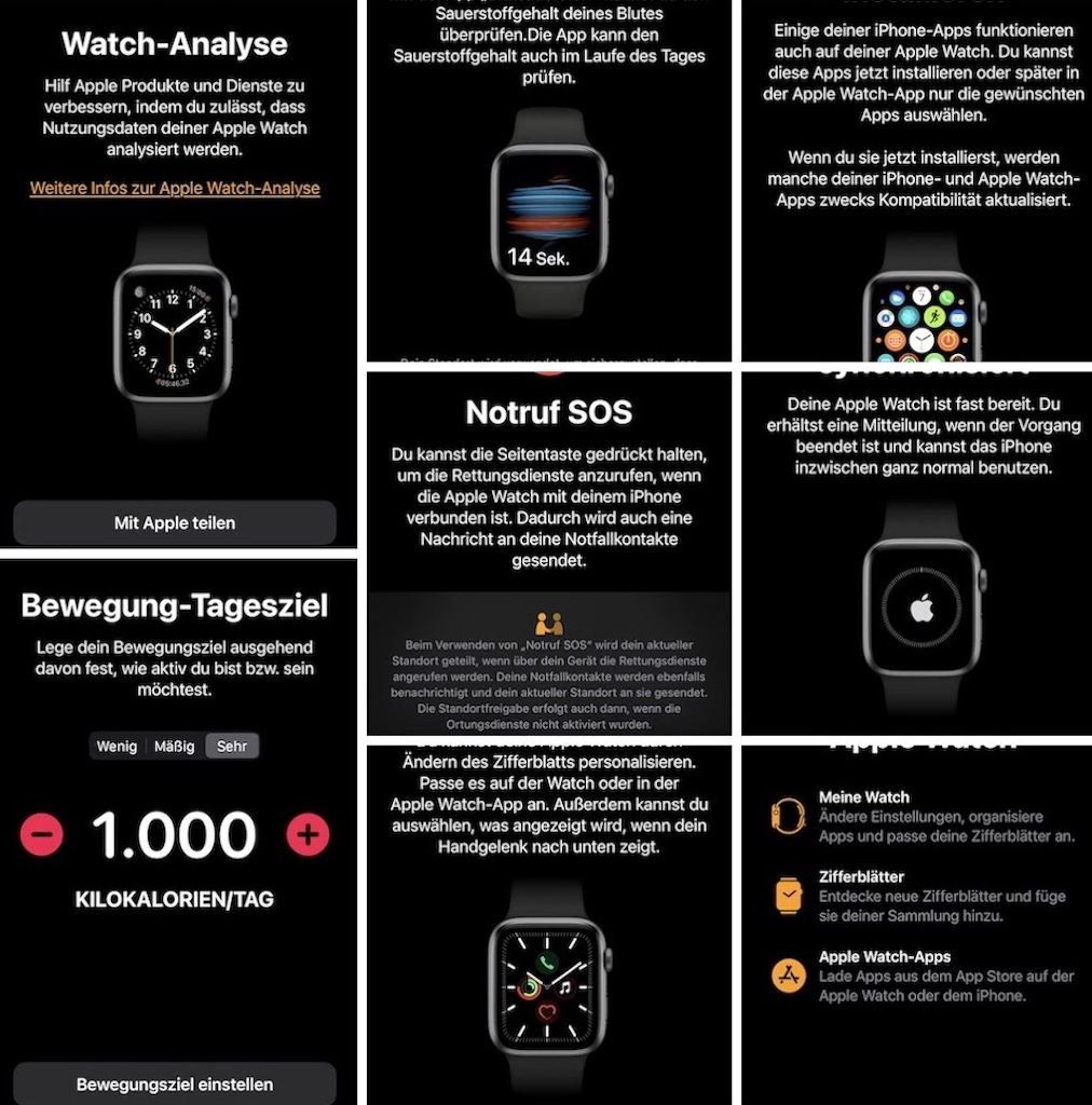 Die Einrichtung ist easy - für Appel iPhone Nutzer so und so ein Klacks