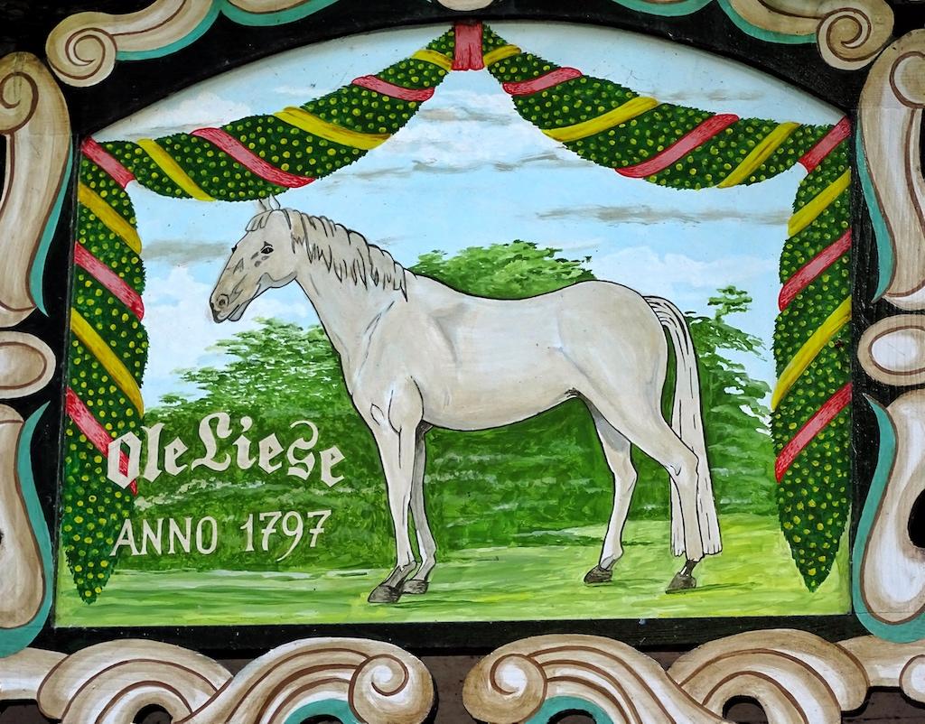 Die Ole Liese ist nach dem Lieblingsreitpferd des Fürsten von Hessenstein benannt