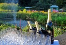 Zum Auftakt des 33. Schleswig-Holstein Gourmet Festivals wird Champagner Black Label von Lanson gereicht