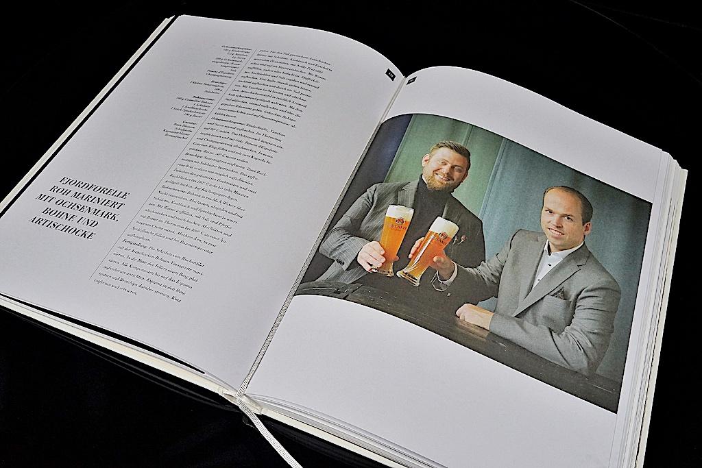 """Tristans Brandt Kochbuch """"Restaurants in Mode"""" ist ein Wälzer von 280 großformatigen Seiten"""
