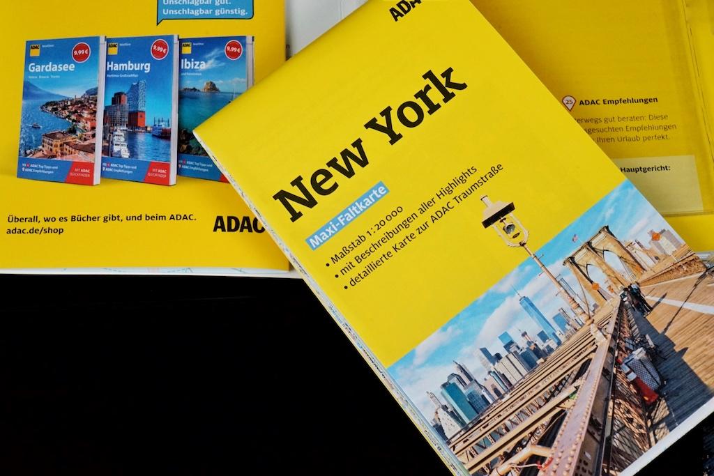 ADAC Reiseführer New York - alles in einem Reiseführer; für die Planung unabdingba