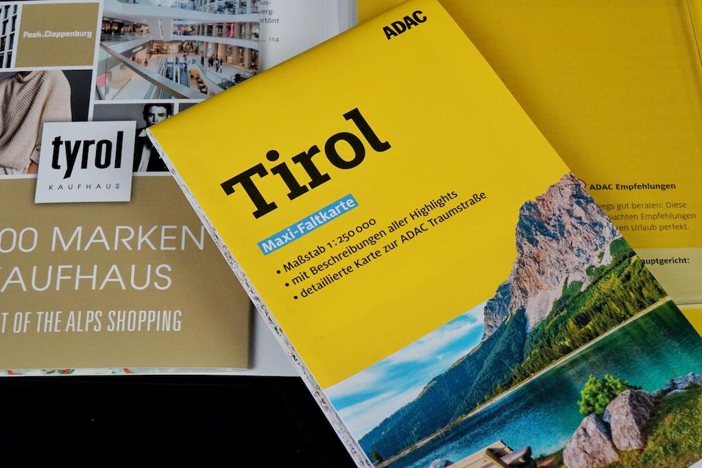 Tirol - Reiseführer vom ADAC: Detailliert Planung, Maxi-Faltkarte zum Herausnehmen... und schon kann die Tour starten