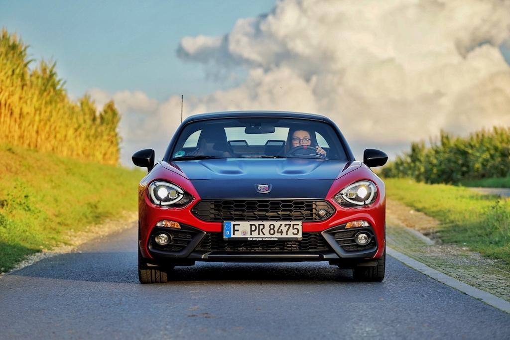 Abarth vermittelt Rennsportfeeling für die Straße, mit dem 124 GT macht das Fahren besonders viel Freude