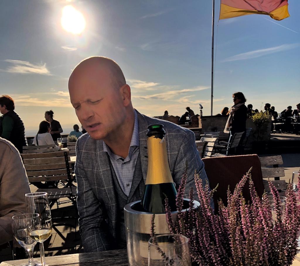 Hat ausgezeichnet geschmeckt: Schloss Staufenberg-Gastgeber Dominic Müller