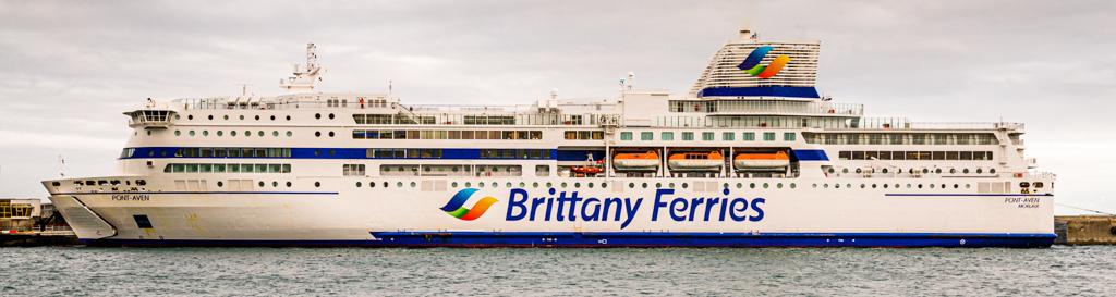 Die Pont Aven, das Flaggschiff der Brittany Ferries / © FrontRowSociety.net, Foto: Georg Berg