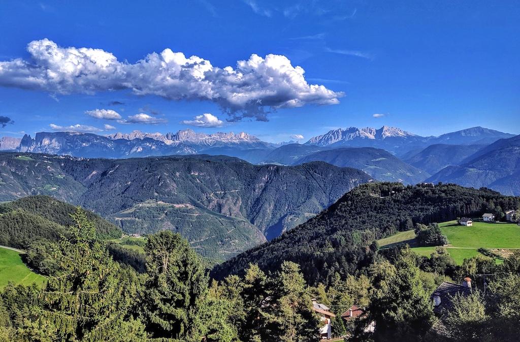 Am Fuße der Dolomiten wachsen die besten Trauben