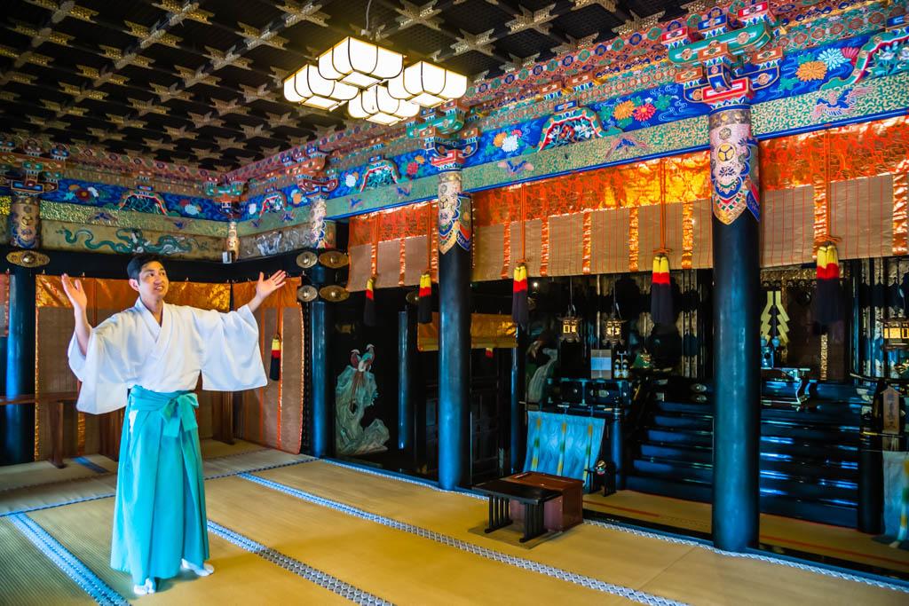 Tokugawa Ieyasu wird heute an vielen Orten in Japan wie eine Gottheit verehrt / © FrontRowSociety.net, Foto: Georg Berg