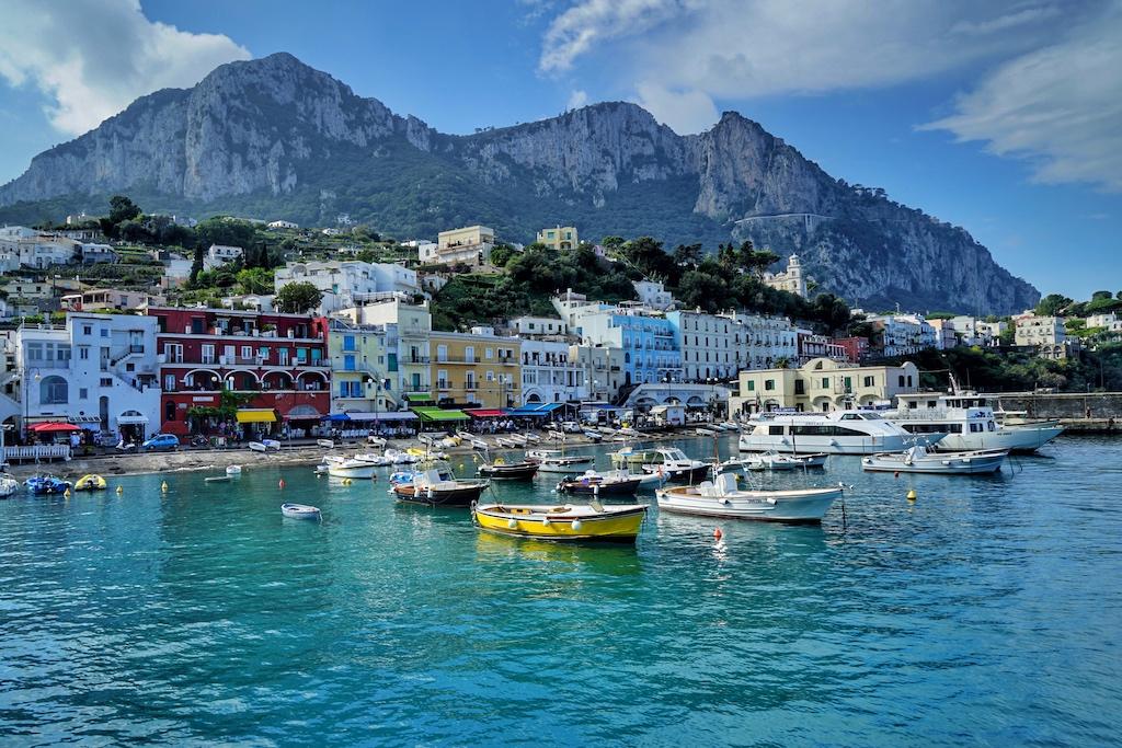 Die Insel Capri - der Traum vieler deutschen Touristen