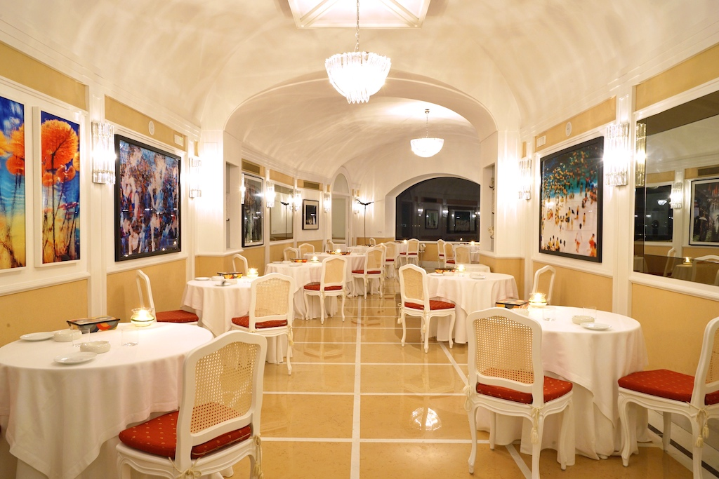 Im Sterne Restaurant Terrazza Bosquet kreiert Chef Antonio Montefusco außergewöhnliche Gerichte