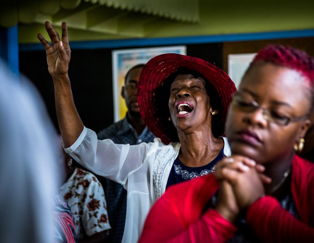 Die Gospel-Musik bietet Raum für Kontemplation und religiöse Extase / © FrontRowSociety.net, Foto: Georg Berg