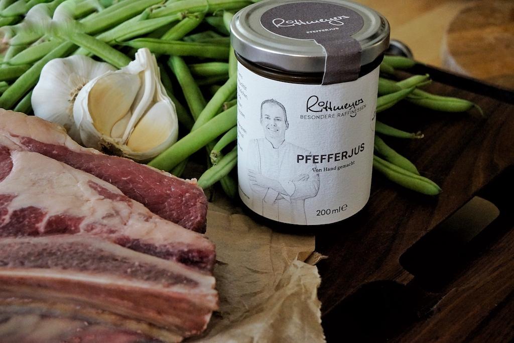 Die Pfefferjus ist ganz klar die erste Wahl bei Fleischgerichten ala Steaks & Co.