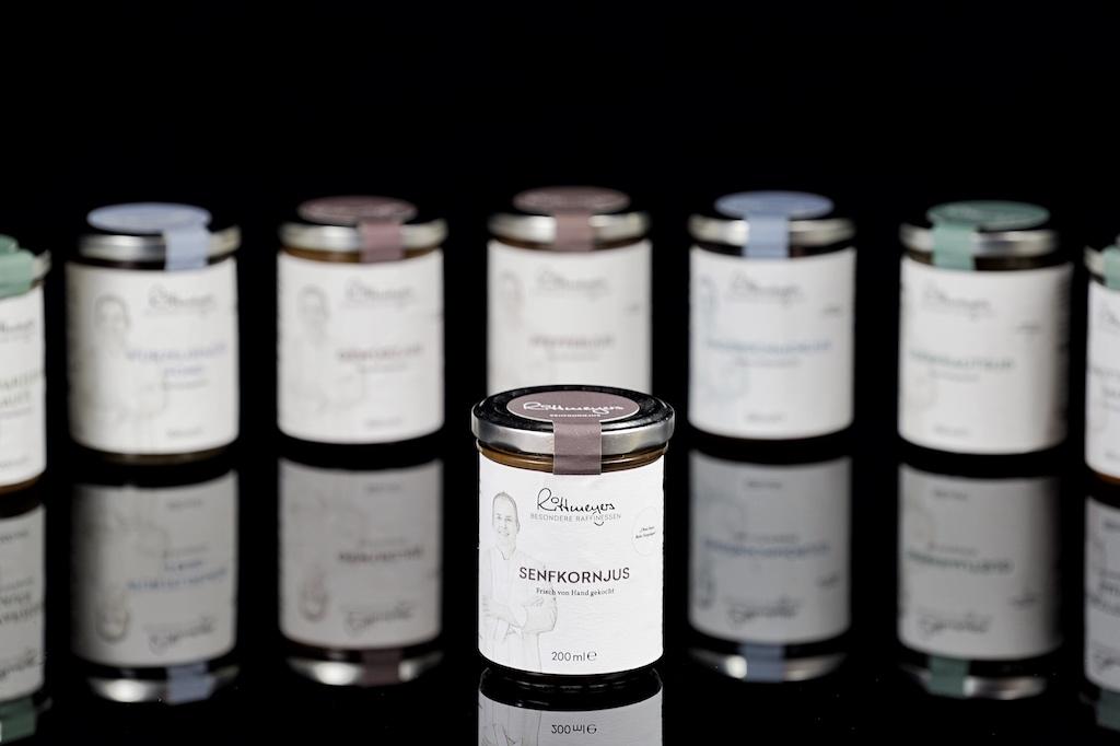 Jens Rittmeyers Senfkornjus harmoniert unter anderem einzigartig zu gebratenen Pilzgerichten
