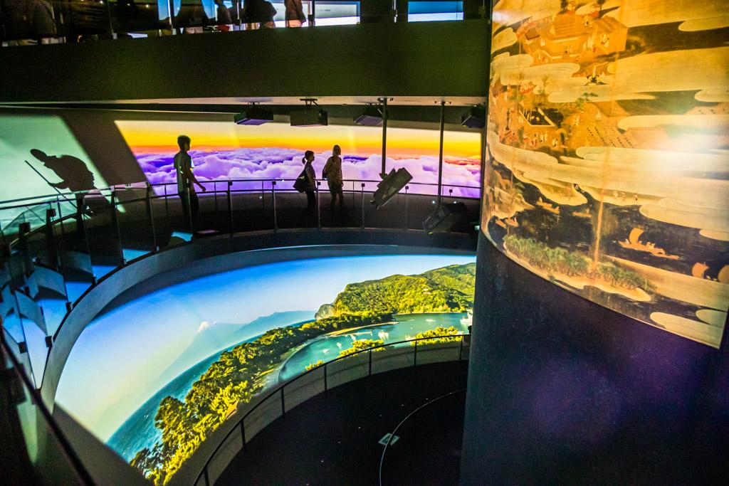 Ein virtueller Aufstieg auf Japans höchsten Berg ist im Mount Fuji Heritage Centre das ganze Jahr über möglich / © FrontRowSociety.net, Foto: Georg Berg