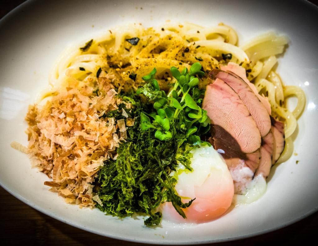 Nishi-Izu Shiu-katsuo Nudeln sind eine regionale Spezialität. Sie wird nur noch in Nish-Izu hergestellt und wurde schon mehrfach ausgezeichnet / © FrontRowSociety.net, Foto: Georg Berg